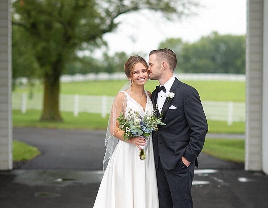 The new Mr. and Mrs. Howe
